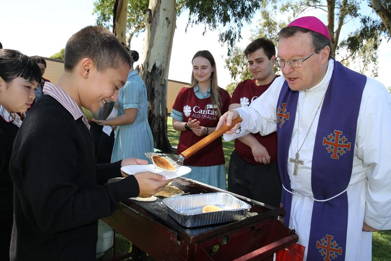 Shrove Tuesday Celebration Archbishop Patrick O'regan Thomas More College