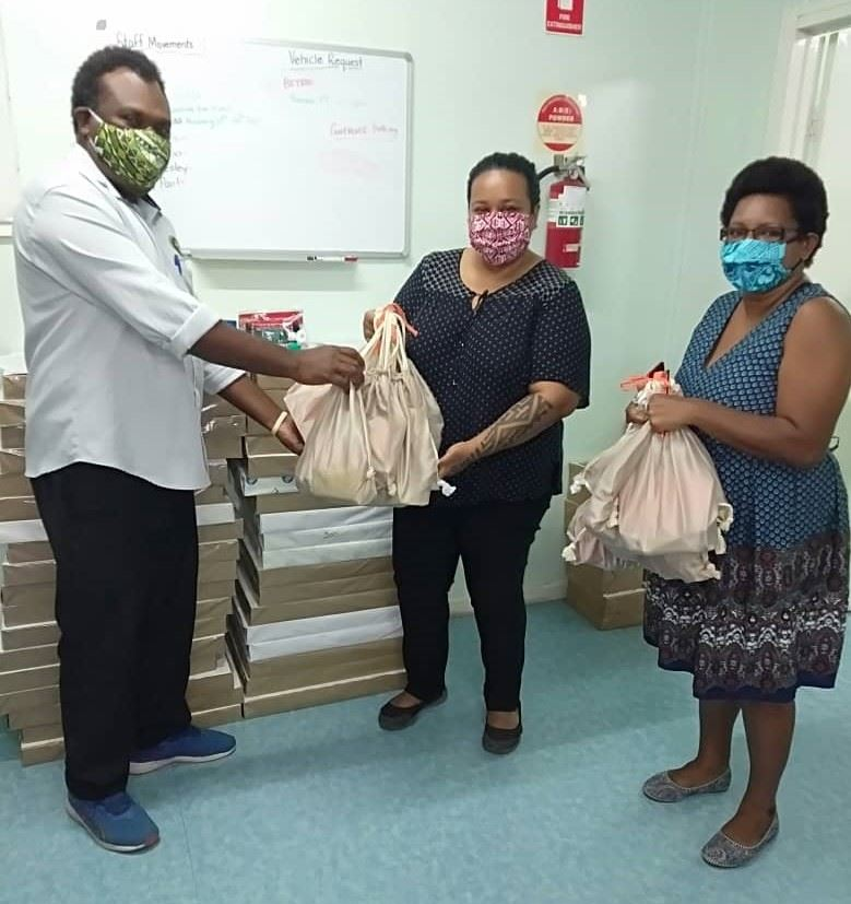 Distribution of PPE in PNG
